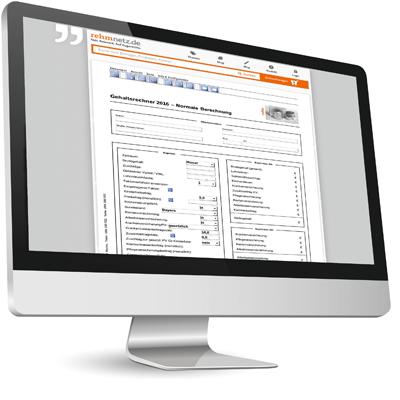 Brutto- und Netto-Gehaltsrechner online | rehm. Beste Antwort
