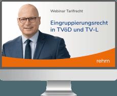 Webinar Tarifrecht: Eingruppierungsrecht in TVöD und TV-L