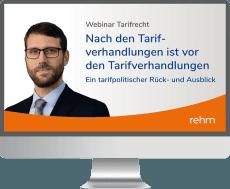 Webinar Tarifrecht: Nach den Tarifverhandlungen ist vor den Tarifverhandlungen