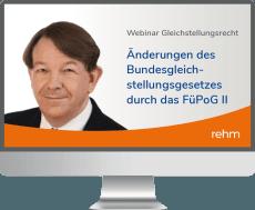 Webinar: Änderungen des Bundesgleichstellungsgesetzes durch das FüPoG II